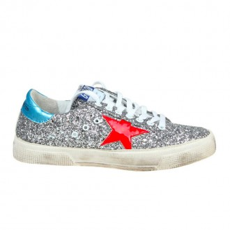 SNEAKERS MAY IN GLITTER AND STAR IN PAINT