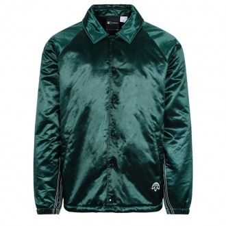 Green Aw Coach padded jacket
