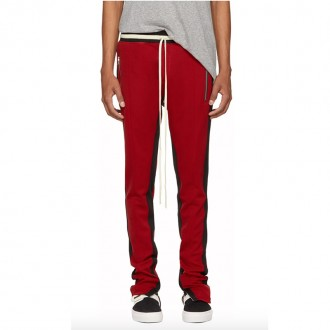 Red Double Stripe Lounge Pants