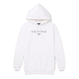 Kering Oversized Printed Loopback Cotton-Jersey Hoodie