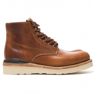 Virgil Boots-Folk (Horsehide) Brown