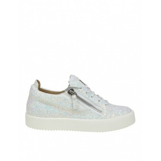 LOW-TOP SNEAKERS IN FABRIC WITH GLITTER