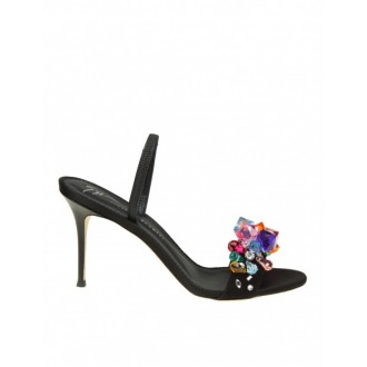 BLINDA SANDAL IN BLACK SUEDE