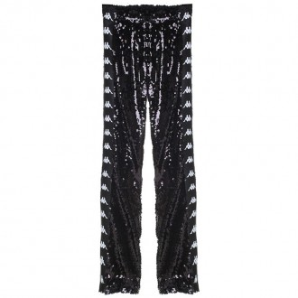 Sequin-embellished track pants Faith Connexion x KAPPA