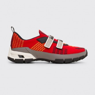 CROSSECTION SNEAKERS SCARLET RED