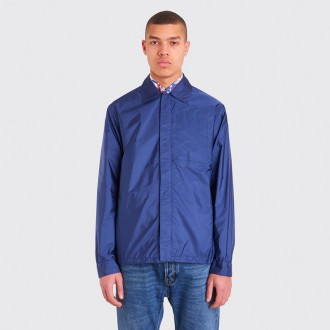 NYLON OVERSHIRT NAVY