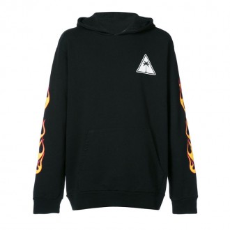 MEN PALMS AND FLAMES HOODIE
