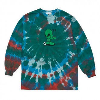 Alien Tie Dye Long Sleeve T-Shirt