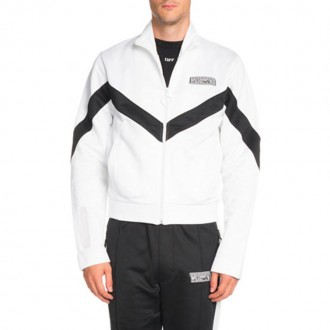 Two-Tone Retro Track Jacket