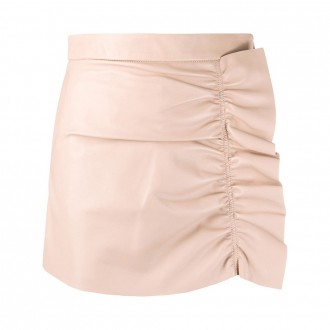 Skorts With Ruched Ruffles