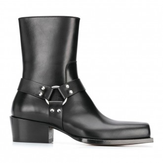 Ankle Boots Square Point