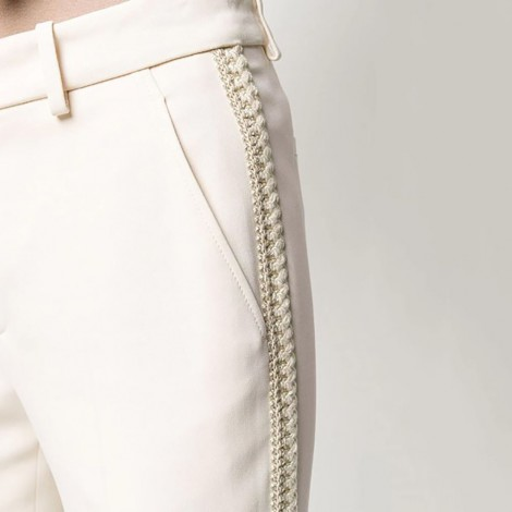 Trousers In Ivory Cady