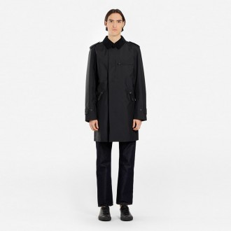 MEN'S BLACK GORE-TEX RIPSTOP COAT