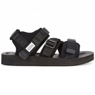 Kisee-V black sandals
