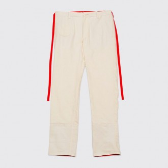 FOLDED CUFFS PANTS IVORY