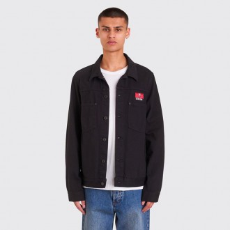 X CREAM SODA PATCH JACKET BLACK