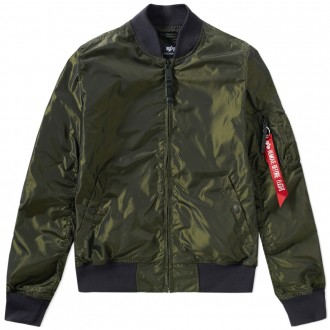 ALPHA INDUSTRIES MA-1 TT JACKET Dark Green