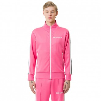 Palm Angels track jacket pink white