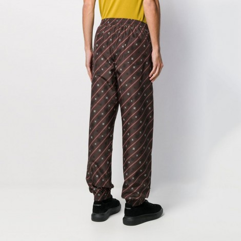 Karligraphy Striped Track Pants