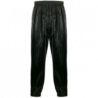 Shiny Wide-leg Trousers