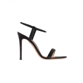 Black high sandal