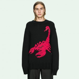 Off-White Scorpion knit sweater