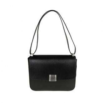 VALENTINA BAG IN BLACK LEATHER