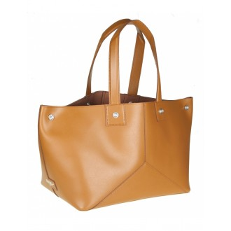 GOLDEN REVERSIBLE LEATHER SHOPPING COLOR LEATHER