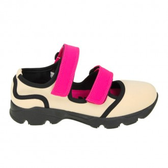SNEAKERS IN NEOPRENE PINK