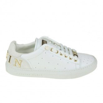 SNEAKERS YOU GOT A CHANCE IN WHITE LEATHER