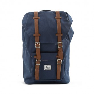 BLUE LITTLE AMERICA BACKPACK