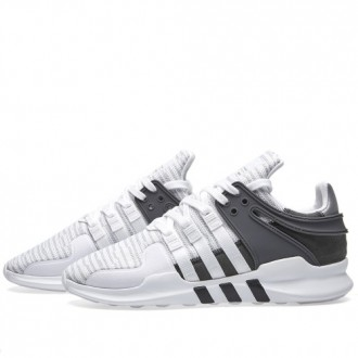 ADIDAS SNEAKERS EQT SUPPORT ADV White & Core Black