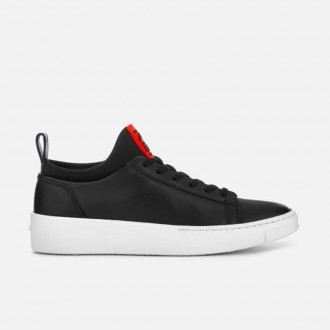 Women's K-city Low Top Logo Trainers - Black