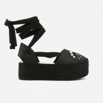 Women's City Espadrilles - Black