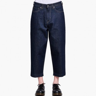 Broad Cropped Jeans