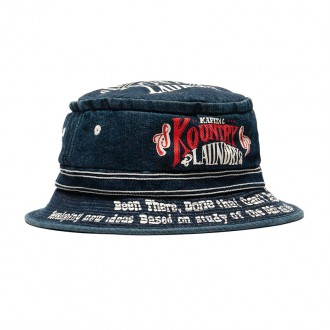 11.5oz Denim Pork Pie Hat IDG