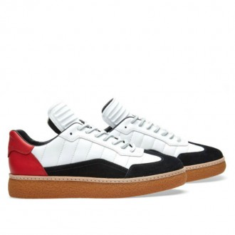 ALEXANDER WANG EDEN LOW SNEAKER Black, White & Red