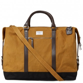 SANDQVIST JORDAN WEEKEND BAG Khaki
