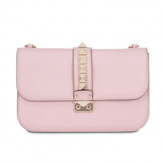Light pink Lock cross-body bag
