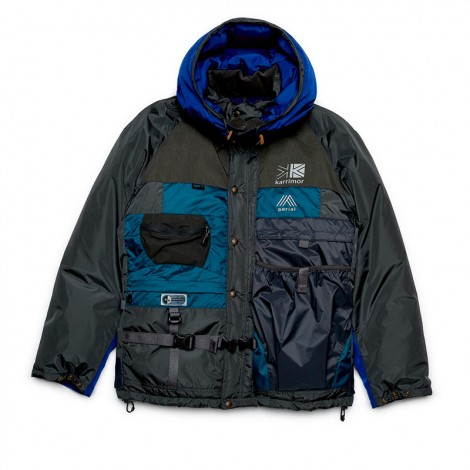 Man Karrimor Jacket (Grey/Blue)