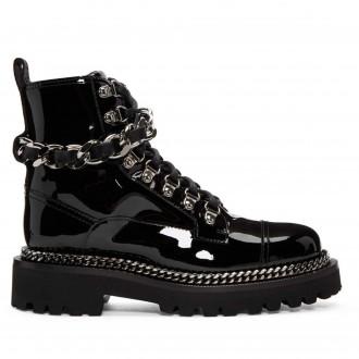 stivali militari con catena