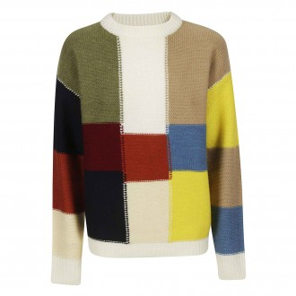 Pullover patchwork