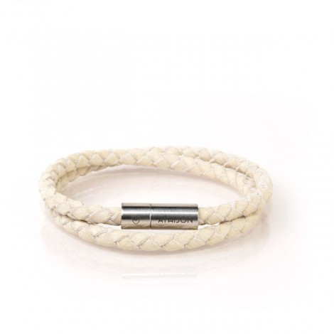 DOUBLE TURN NUBUK BRACELET