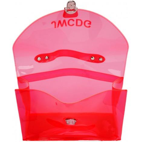 Transparent 'JWCDG' Top Handle Bag