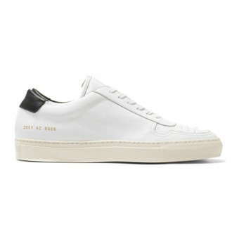 Common Projects Retro Low in Suede White
