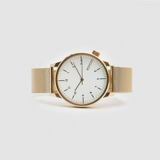 Winston royale watch in gold / white