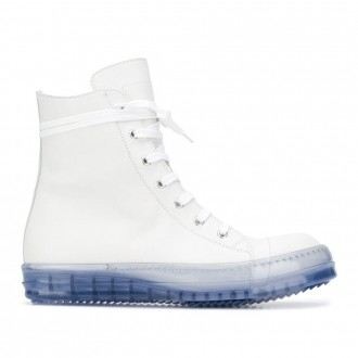Performa Sneakers In White Leather