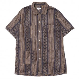Engineered Garments Camp Shirt/ Multi Stripe
