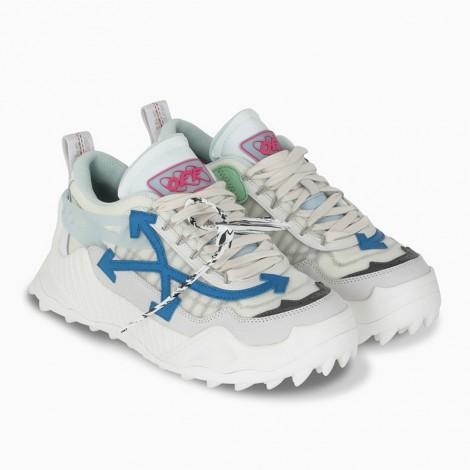 Odsy-1000 White / Blue Sneaker
