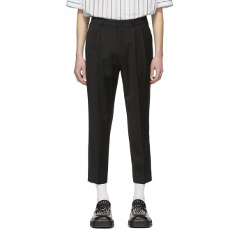Cropped cinder trousers